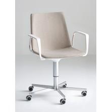silla AKAMI 5R tapizada con brazos