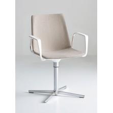 silla AKAMI L tapizada con brazos