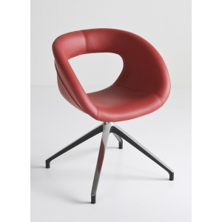 alt= silla MOEMA U tapizada