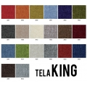 alt= Taburete tapizado Alhambra 77