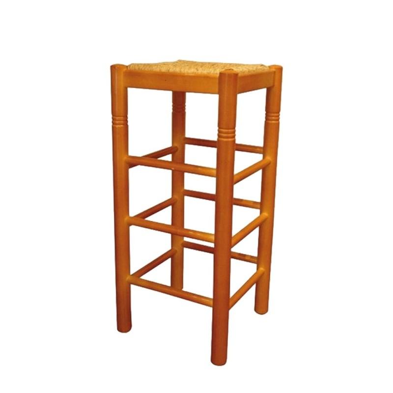 alt= Taburete de madera Oviedo Ref. 264