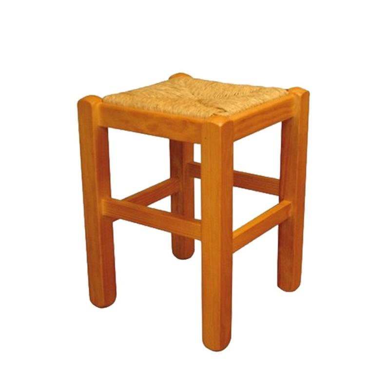 Taburete de madera bajo PAMPLONA Ref. 267