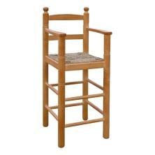 taburete infantil de madera TRONO ref. 192
