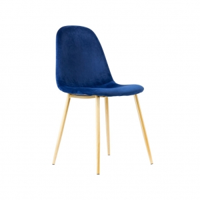 alt= silla nórdica SANSA terciopelo