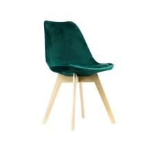 alt= silla nórdica ALESUND terciopelo