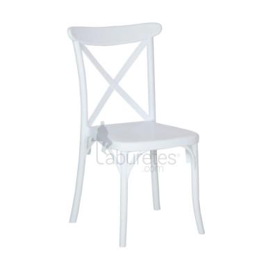 silla REINA de plástico
