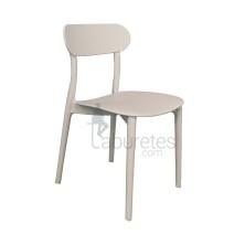 silla MOJAVE de plástico Sillas de diseño moderno para pub, restaurante y terrazas.