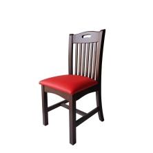 alt= silla Sajonia madera